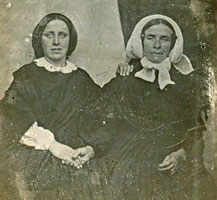 Eliza Serjeant and Sarah Bland